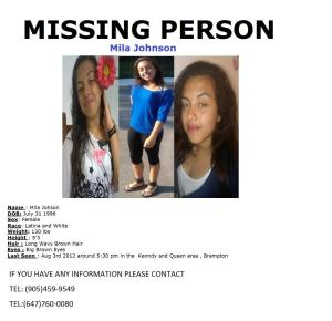 #findMilaJohnson