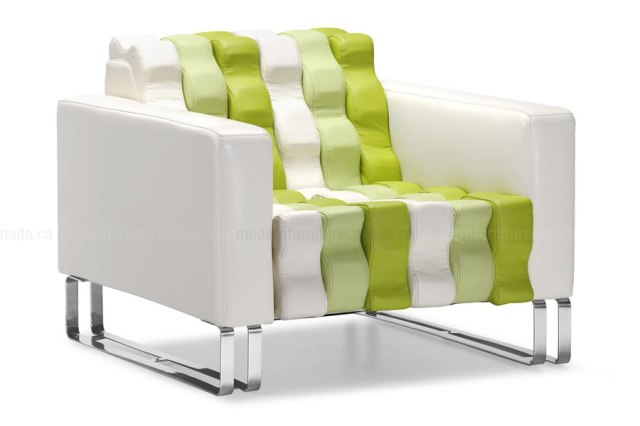 updated modern comfy chair, came into stock and flew out the door--on back order now!