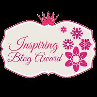 "a nomination for most ""Inspiring Blog Award"""