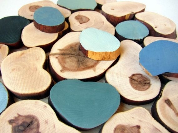 Coloured Tree Slices