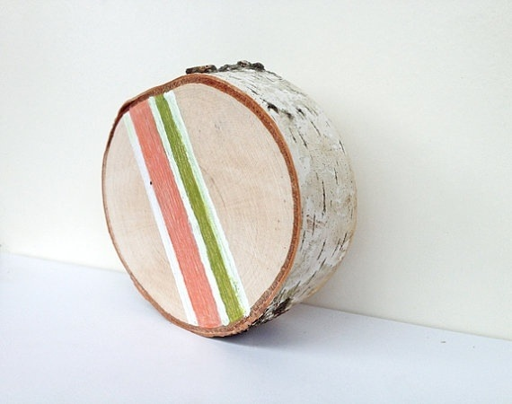 More Tree Slices on Etsy